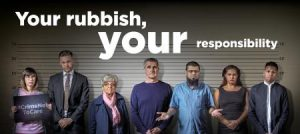 Your rubbish your responsibility duty of care poster