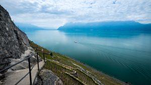 Side view of lake geneva