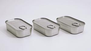 metal food tins